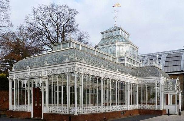 victorian greenhouse conservatory | Gartenhaus,englisch