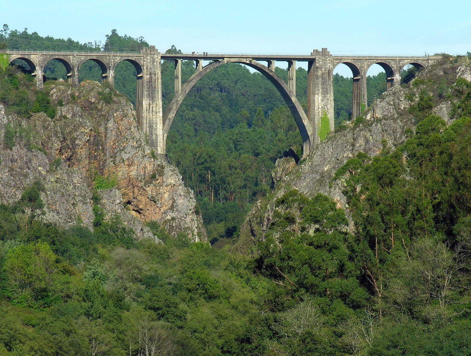 Puente de Gundián de Ponte Ulla, La Coruña (España)