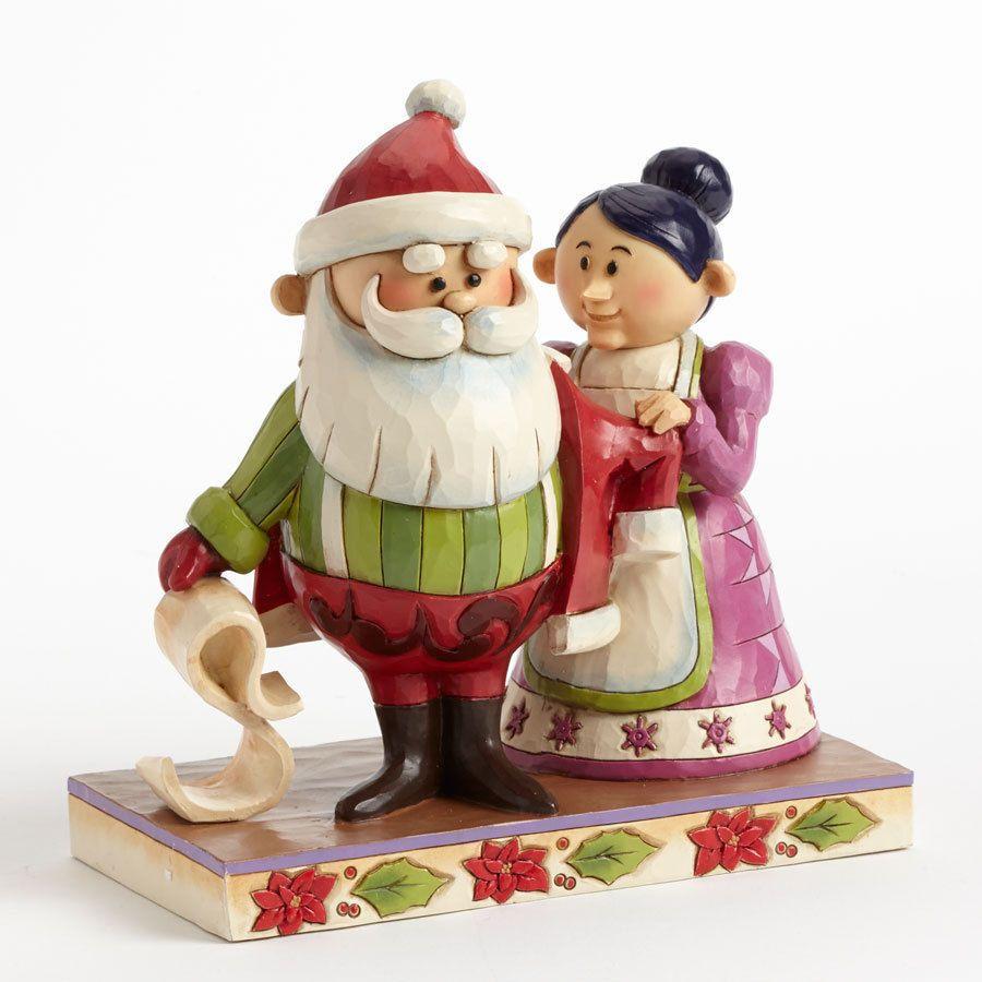 Santa and Mrs. Claus Figurine
