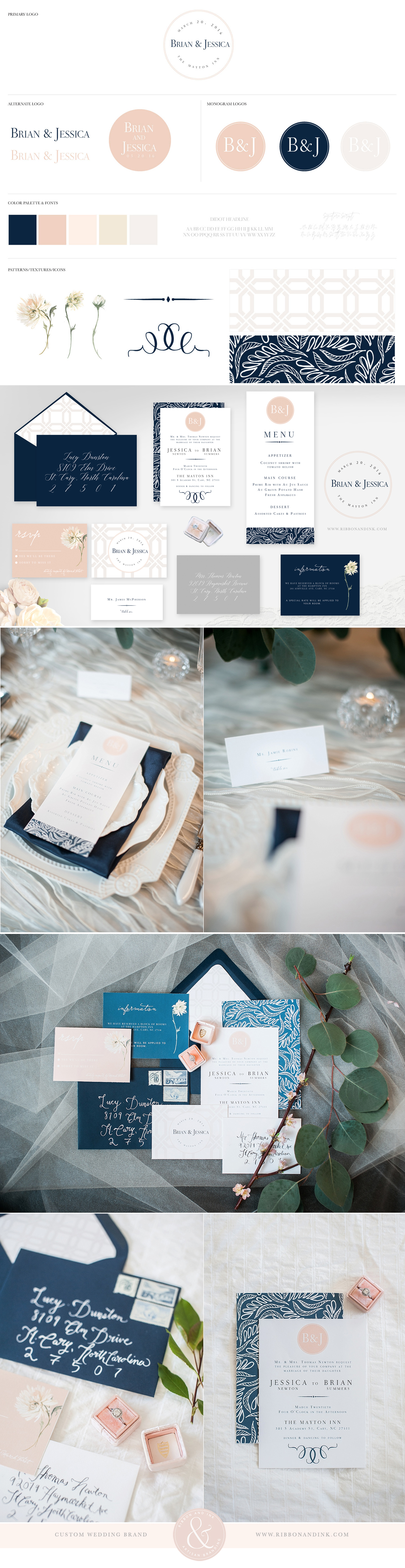 Wedding Brand & Styled Shoot | Pinterest