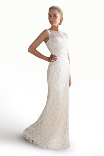 Fresh Jessica McClintock White Lace And Netting Wedding Gown Dress Size