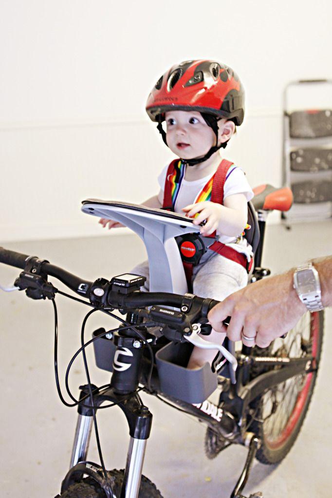 NEW WeeRide Kangaroo Baby Child Bike Bicycle Trailer Seat Bike Kid/'s GREEN
