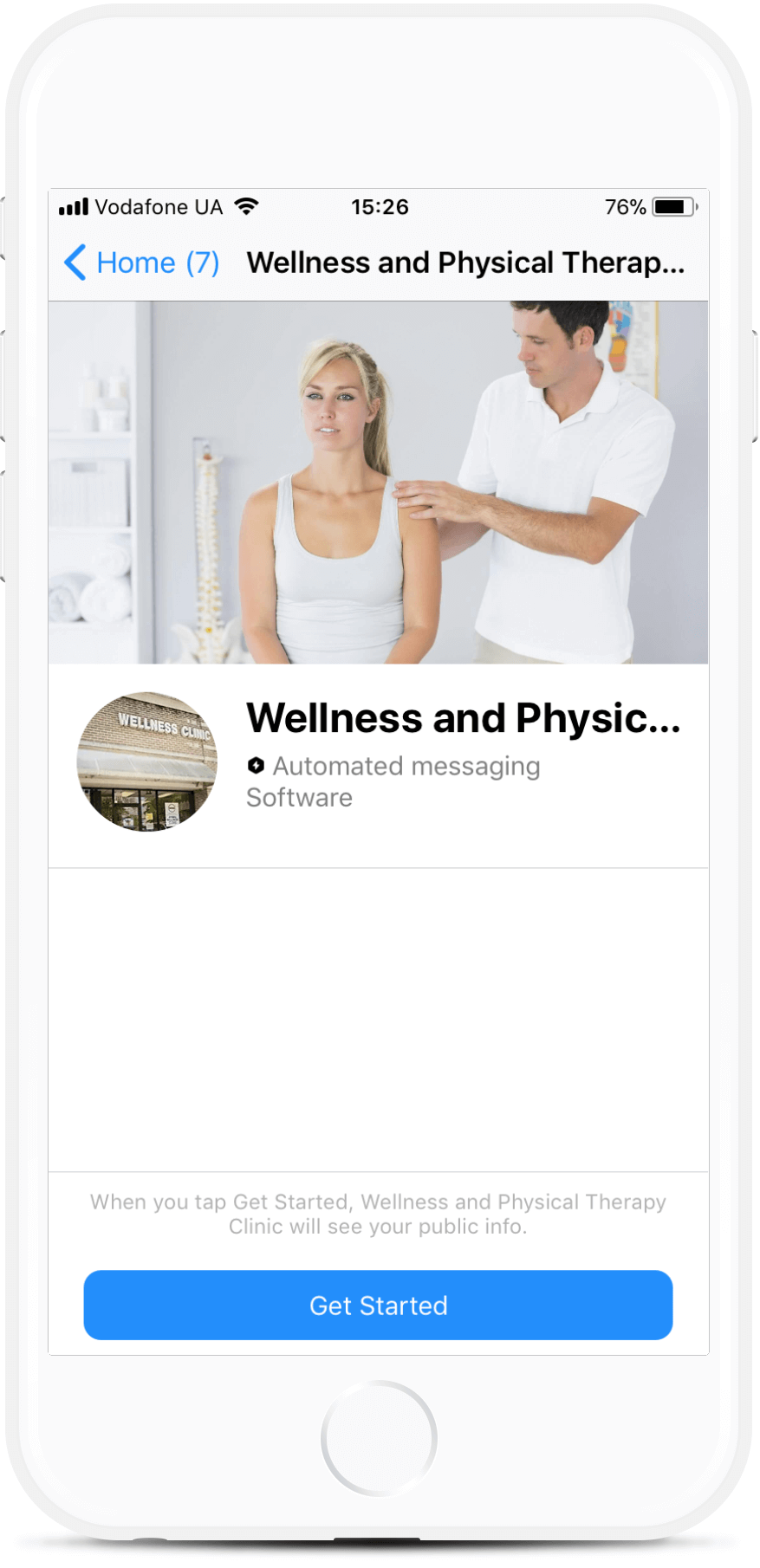 Appointment Bot Template for Wellness Clinics Get