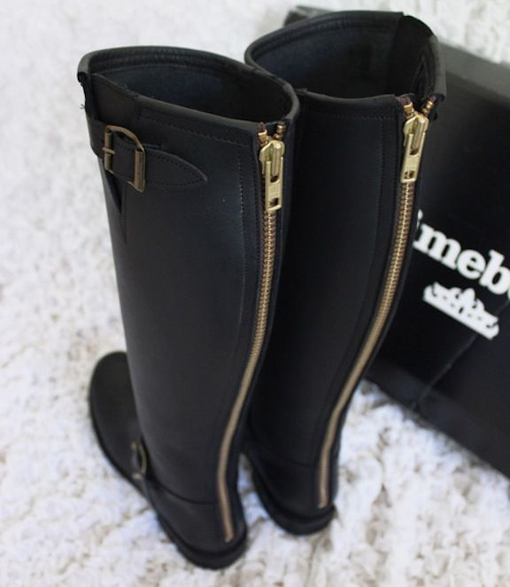 zip-up black boots | shoes | Pinterest | Black boots