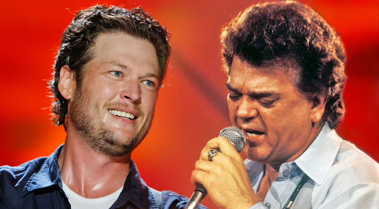 Blake Shelton Tries His Hand At One Of Conway Twitty's
