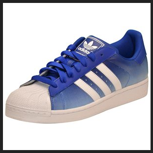 df0692df67b6 Blue white fade adidas shell tops