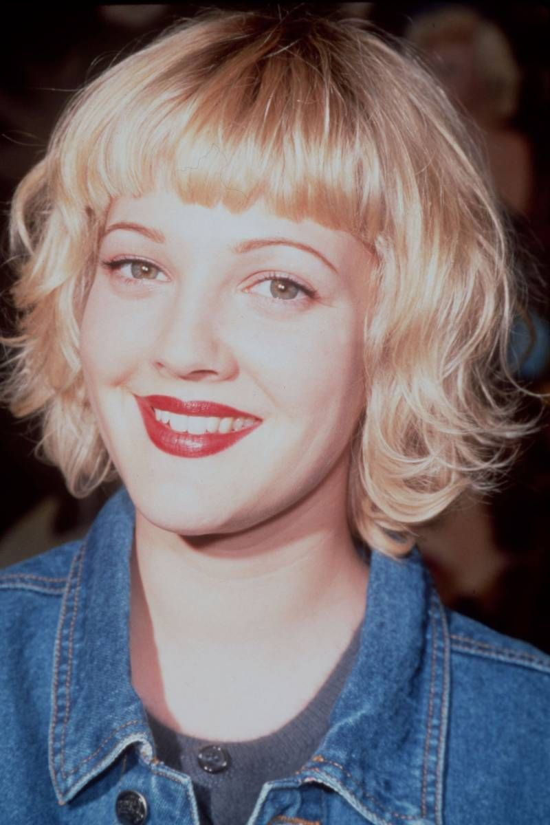 The Flower Child Bob Drew Barrymore 1998 Hair Pinterest