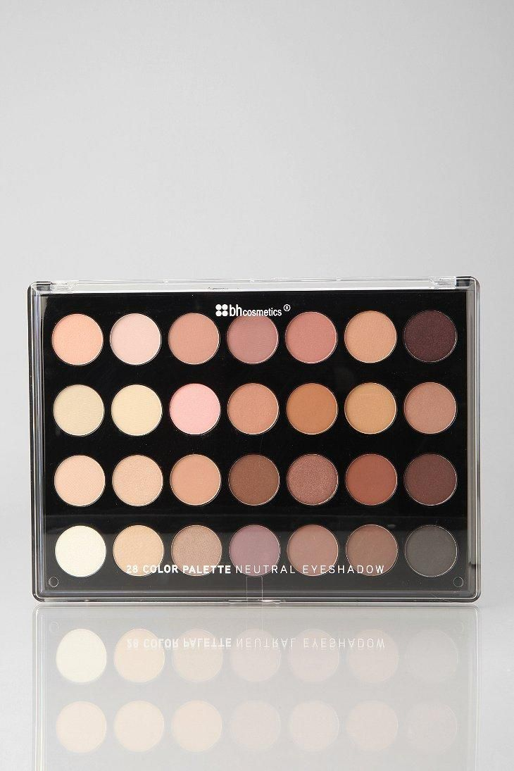 Bh Cosmetics 28 Shade Neutral Eye Shadow Palette Urbanoutfitters