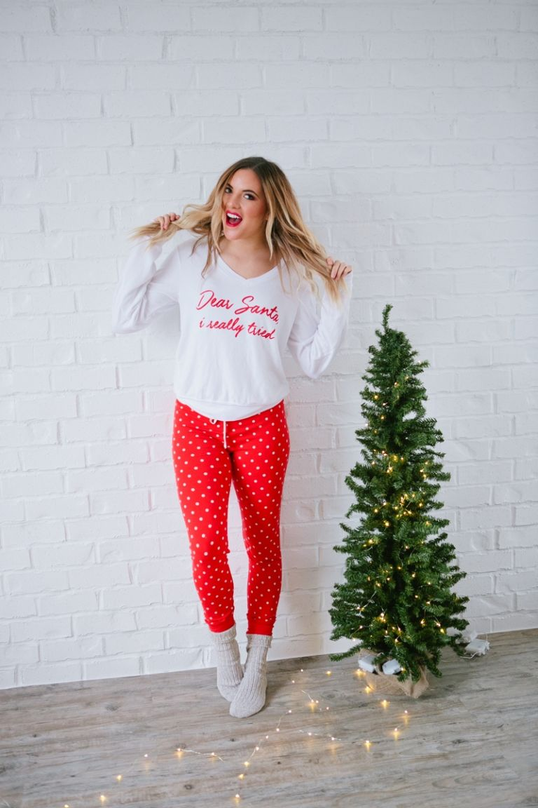 Pajama Ideas for Christmas + My Favorite Things Giveaway... - Rach Parcell