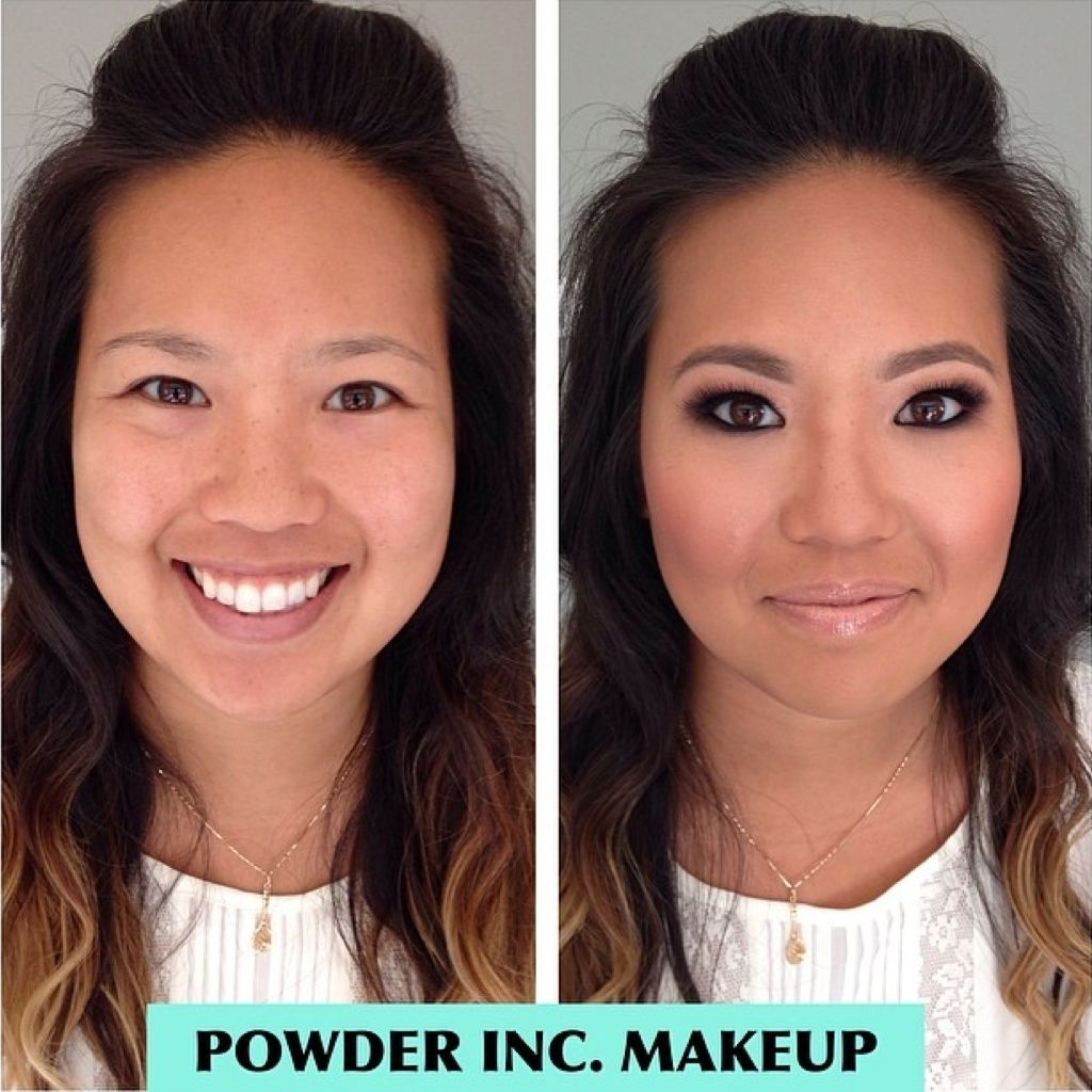 Wonderful #eyemakeup technique  by @powderincmakeup  - notice how a correct technique lifts the eyes. Their client was beautified with our cluster #eyelashextensions   Buy Cluster Eyelash Extensions at http://www.shopeyemimo.com/categories/Eyelash-Extensions/