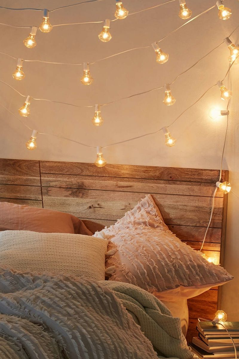 Pin On Christmas #string #light #ideas #for #living #room