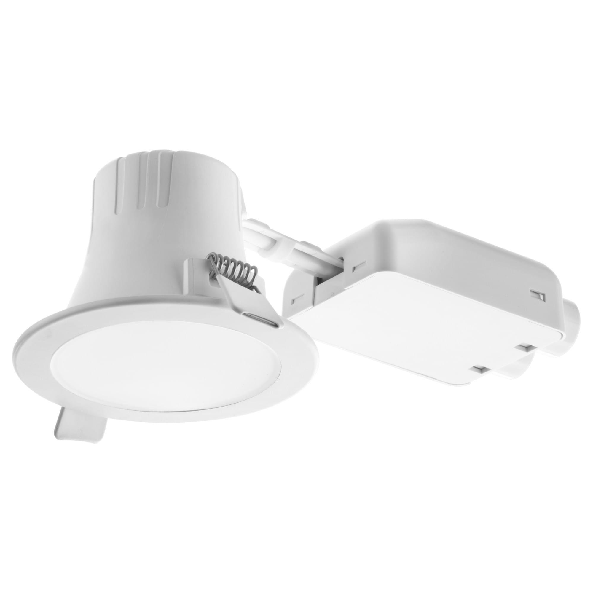 LAKENE LED inbyggnadsspot opalvit | Spotlights, Glödlampa