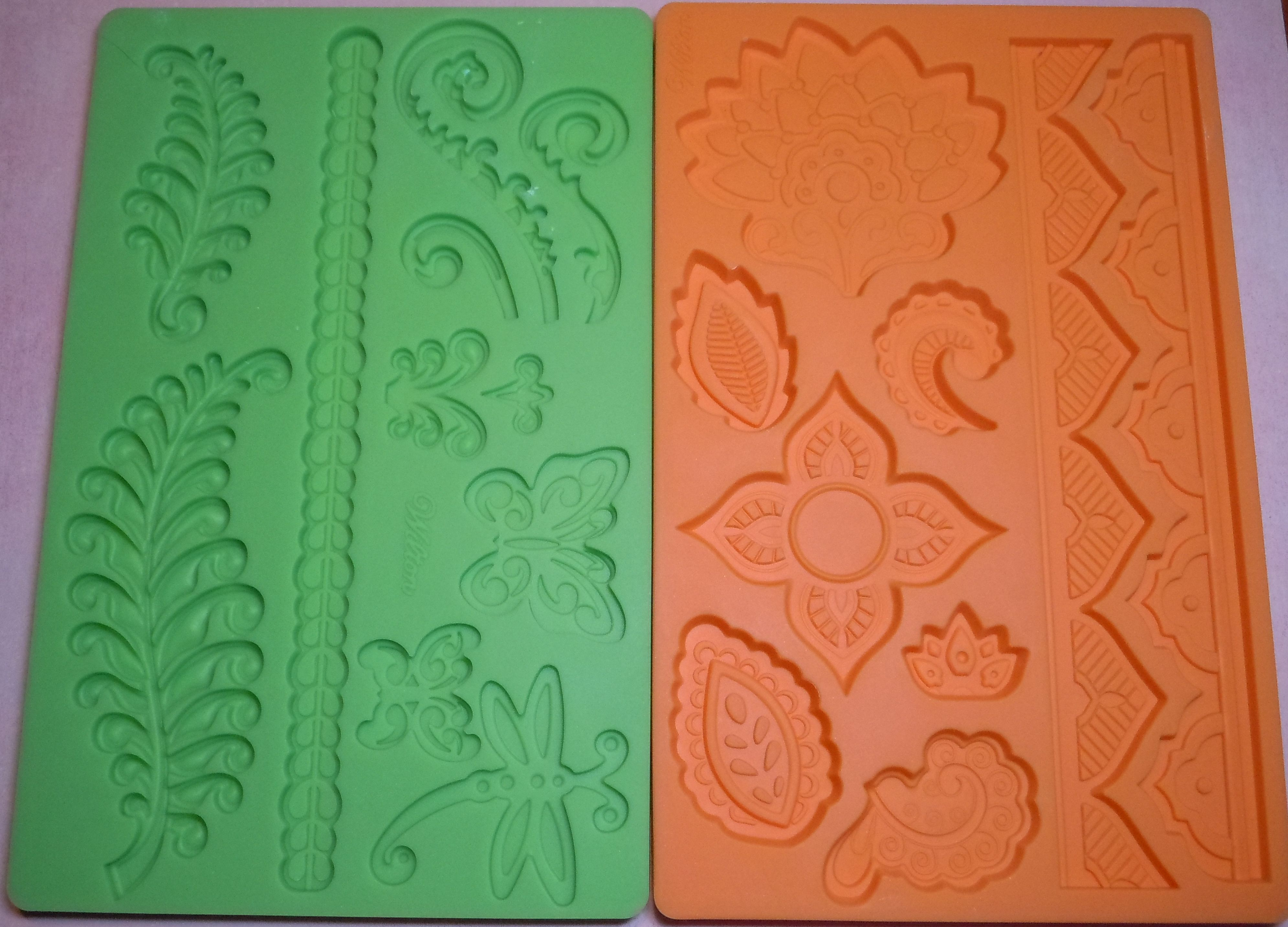 Wilton Molds on Polymer Clay Productions | DIY sellos y texturas ...