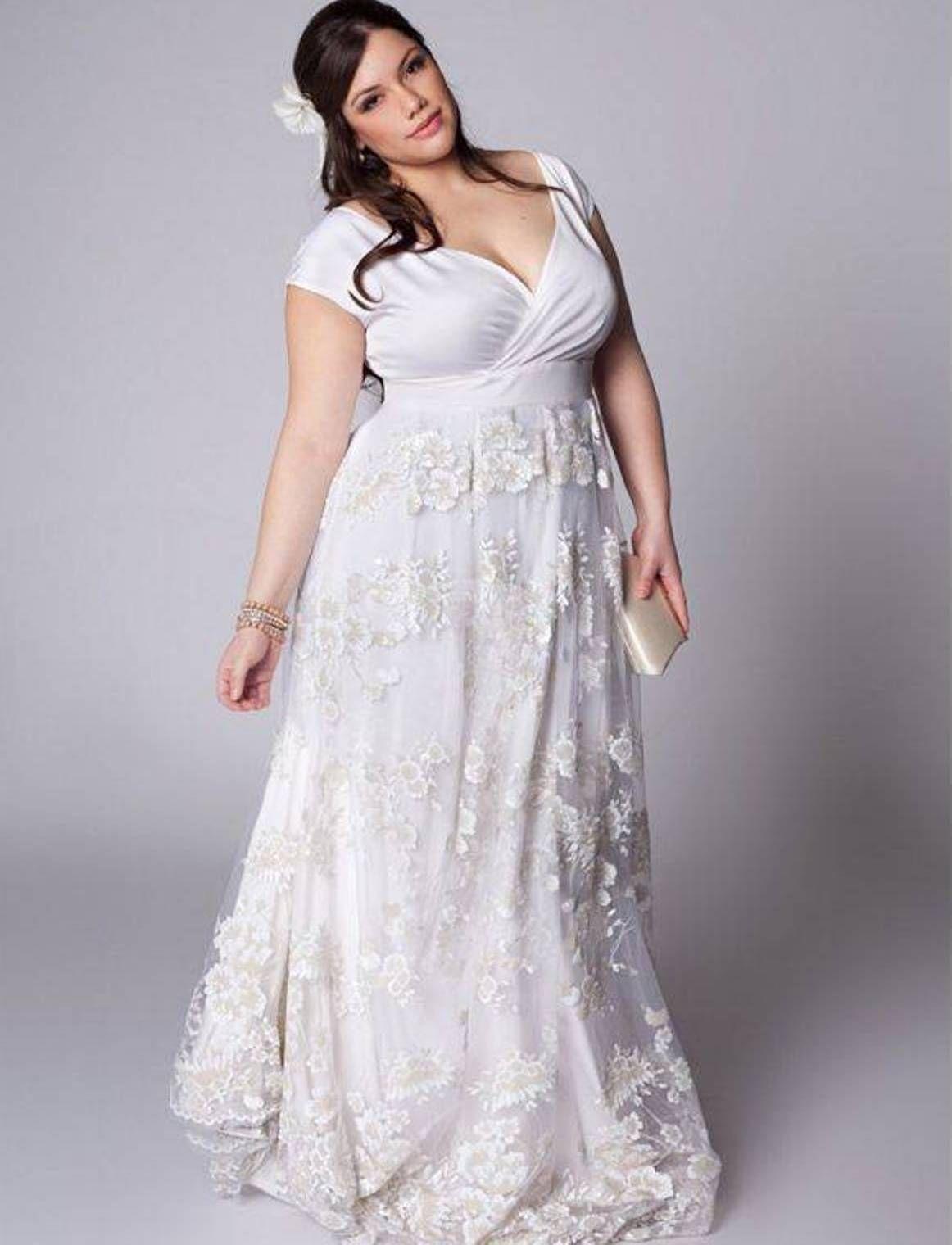 Hawaiian Wedding Dresses Plus Size Wedding Pinterest