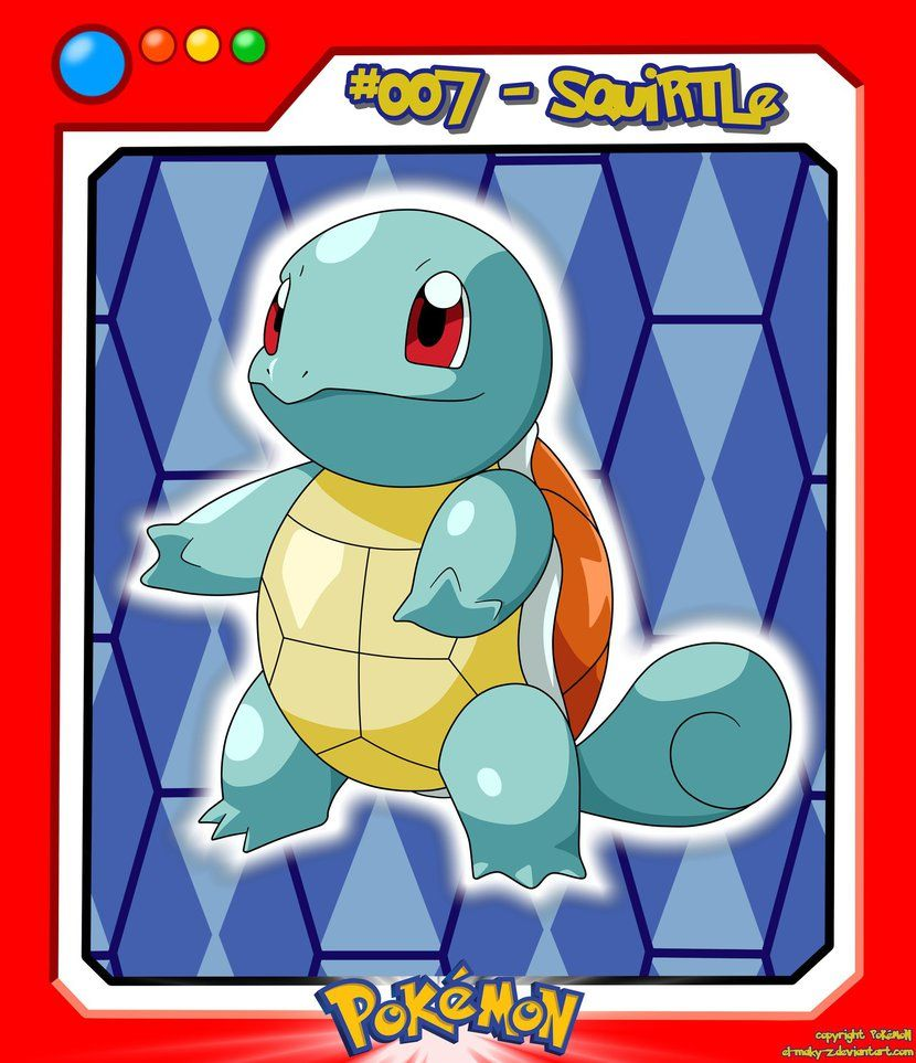 #007_Squirtle by el-maky-z on DeviantArt