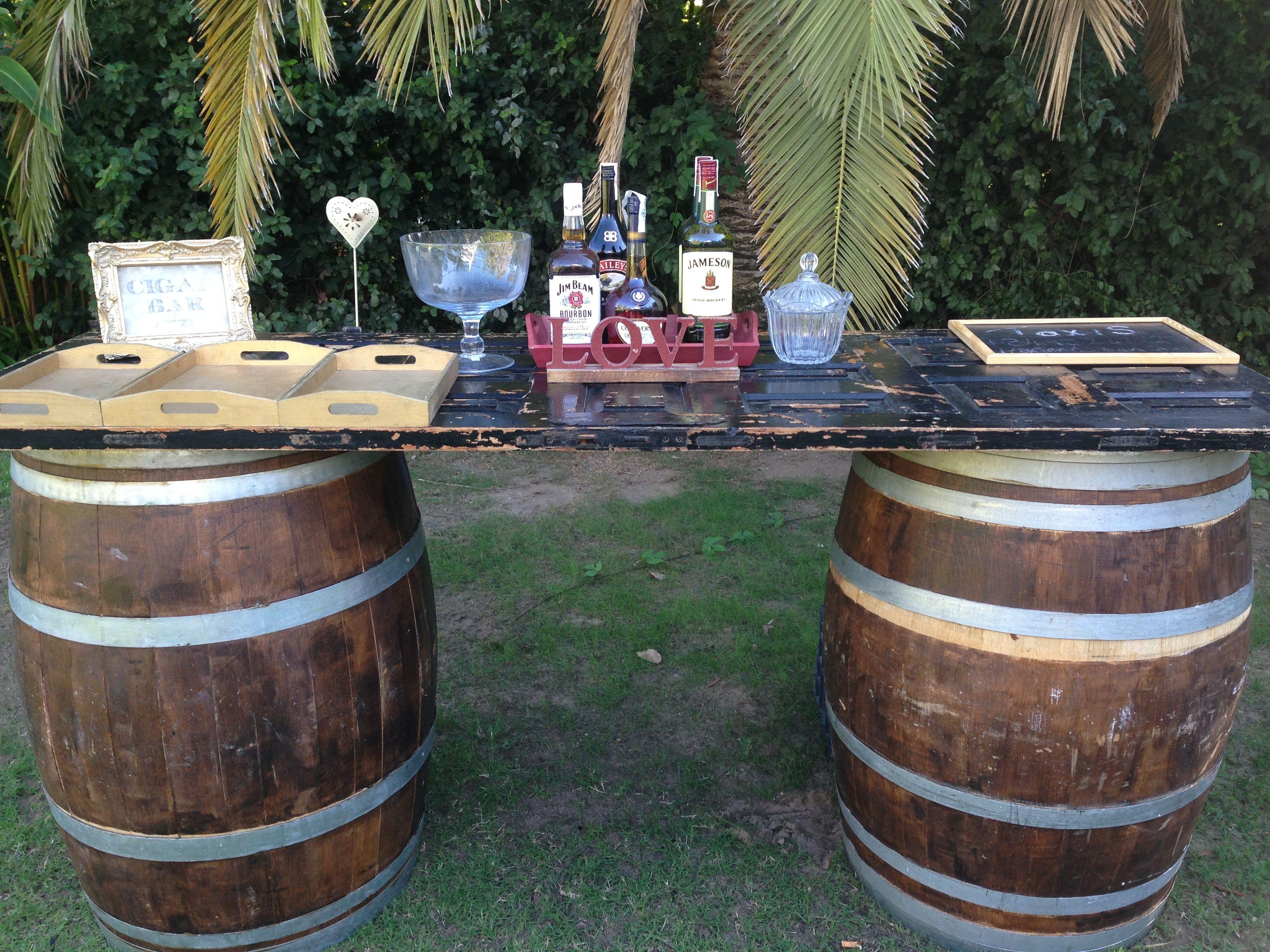 Con barriles por Fiestasol