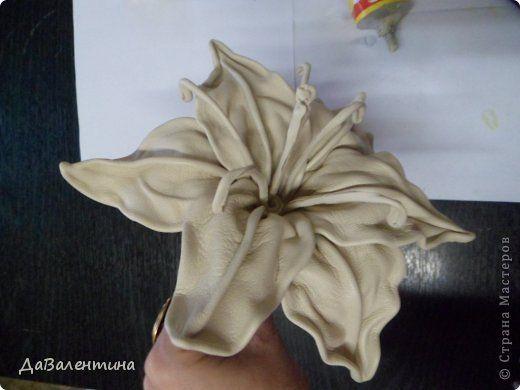 Как сделать цветы из меха фото 988