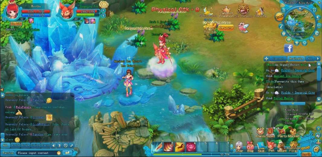 Skyripper Is A Browser Based Massively Multiplayer Online Role Playing Game Mmorpg Mmo Rpg Social Game Free To Play On Web B Social Games Mmorpg Mmo Games