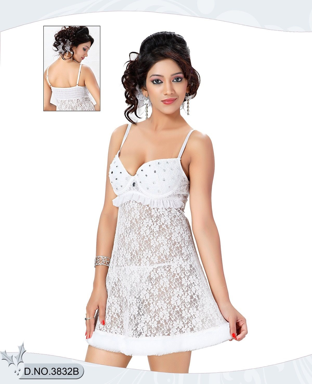 010fc1dcb New Hot Sexy Women Ladies Girls Lace Robe Sleepwear Lingerie Gift G-string  Dress Nightdress