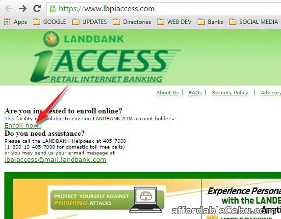 lbpiaccess How to Apply for Landbank Online Banking (LBPIAccess)