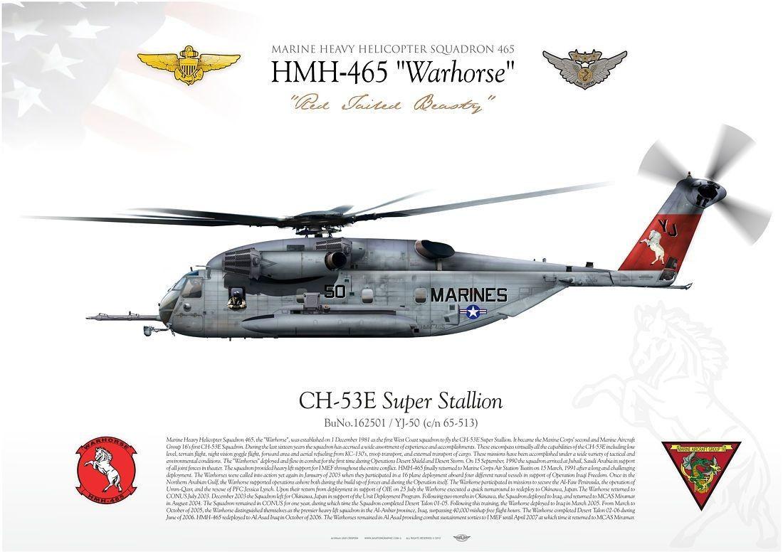 CH-53E Super Stallions helicopters Iraqi Freedom I US Marine Corps USMC