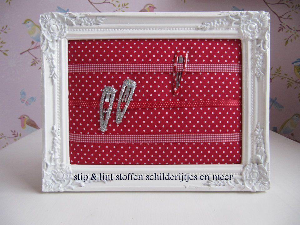 Accessoires Slaapkamer Kind : Knipjesborden stip & lint stoffen schilderijtjes en meer