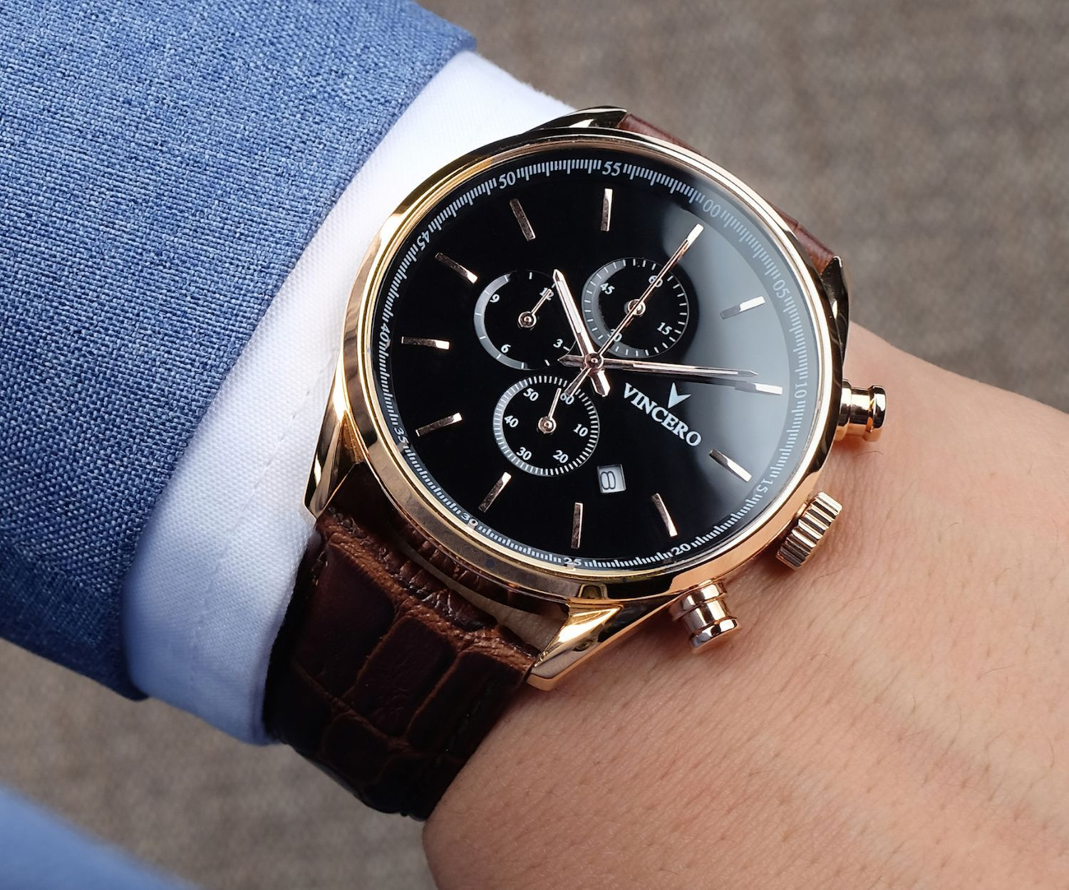 Mens Chrono S Gold Watch Vincero Collective Luxury Watches For Men Expensive Watches Watches For Men
