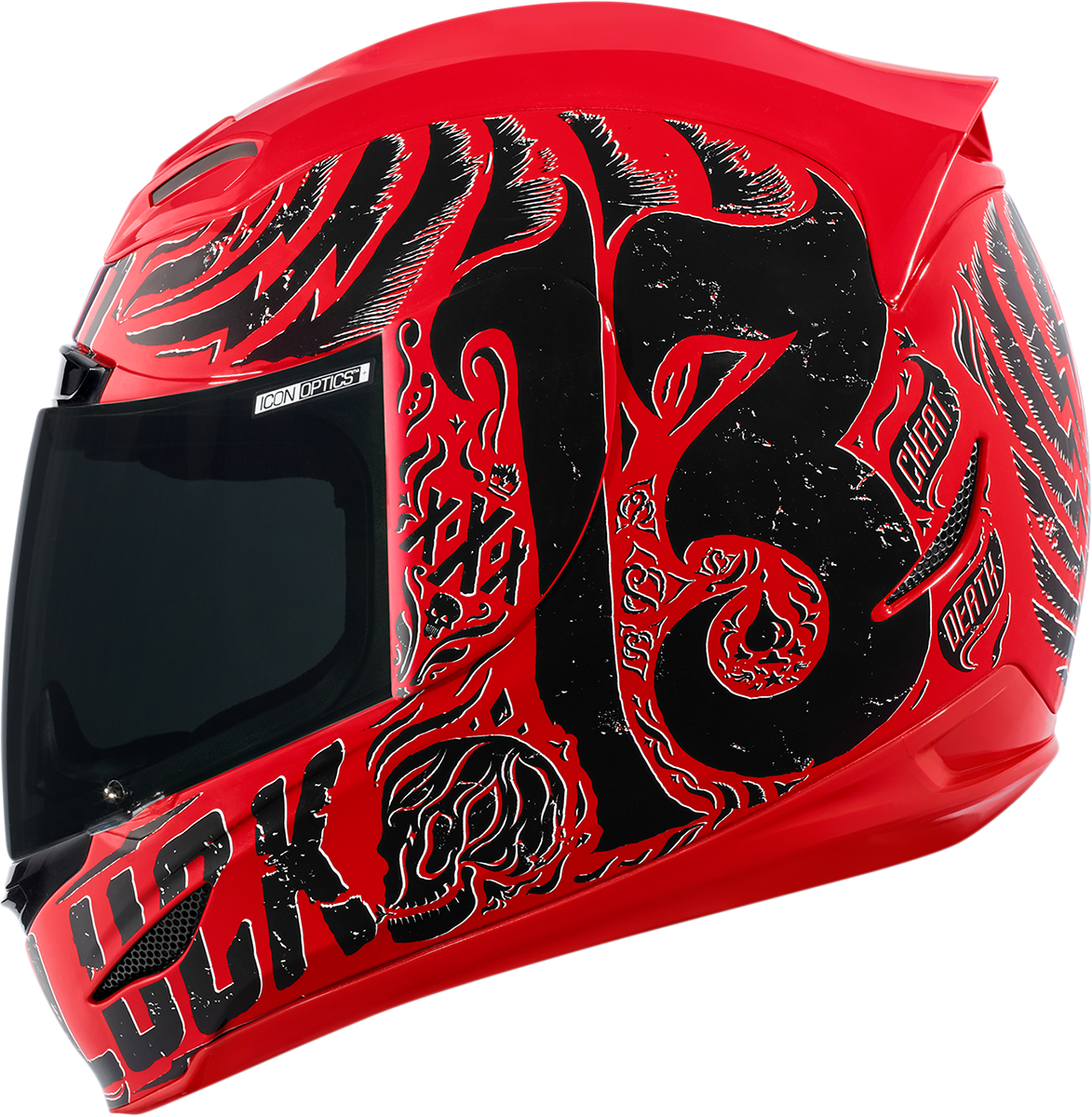 Airmada Hard Luck Red Gloss Products Ride Icon 265 00