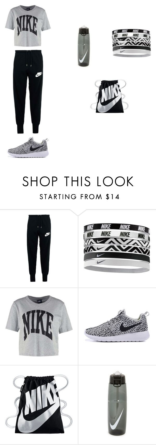 """""""Nike"""" by mpenn-1 ❤ liked on Polyvore featuring NIKE"""