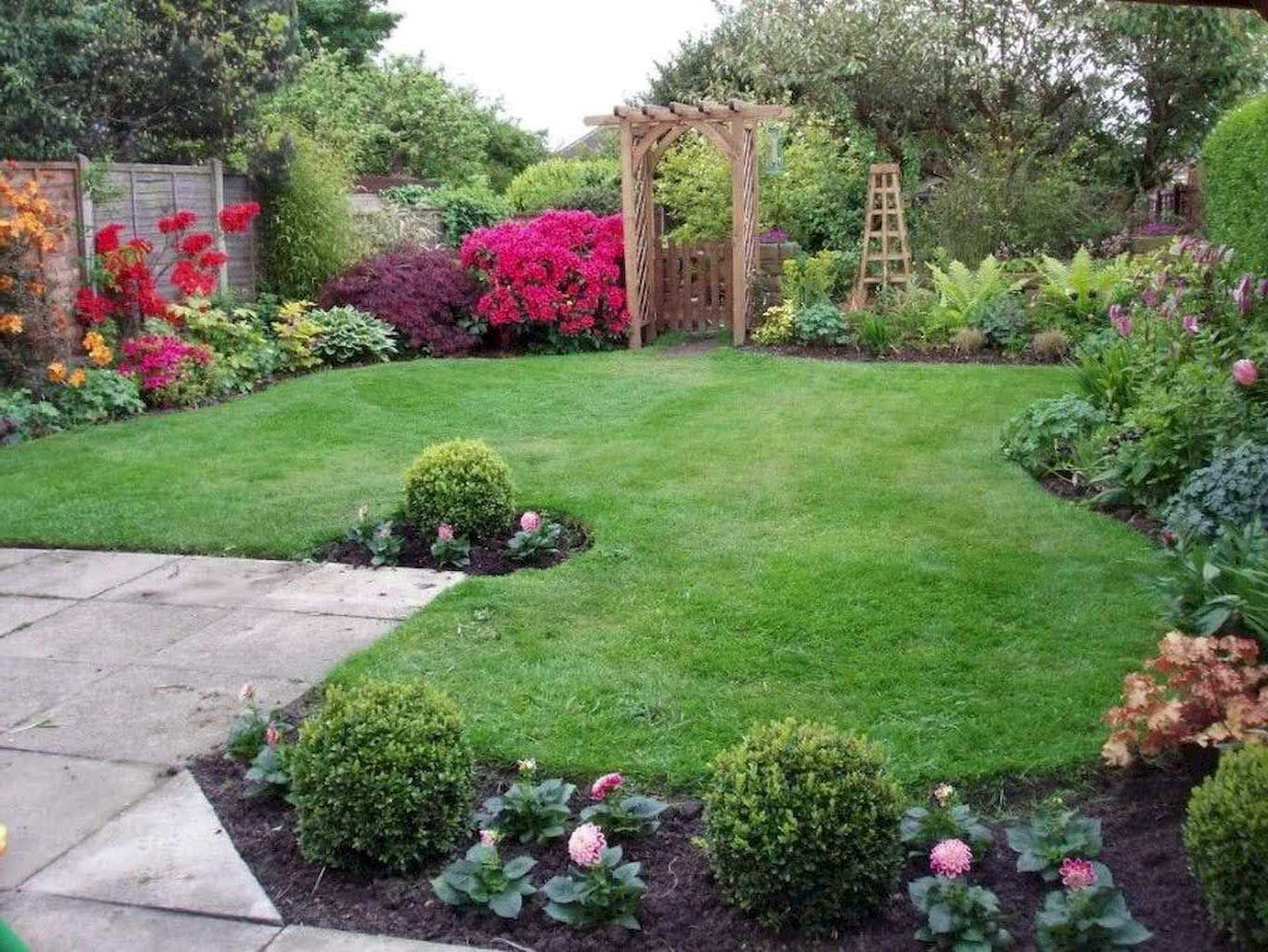 85 gorgeous backyard landscaping with rocks ideas in 2020 on gorgeous small backyard landscaping ideas id=96376