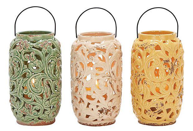 Biella Lantern Set