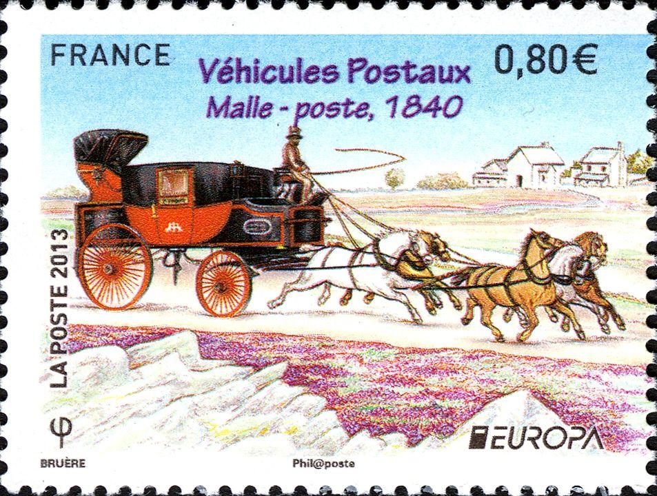 FRANCIA Carruaje Postal 1840