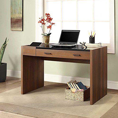 Dark Cherry Computer Desk Corner Desk For Bedroom