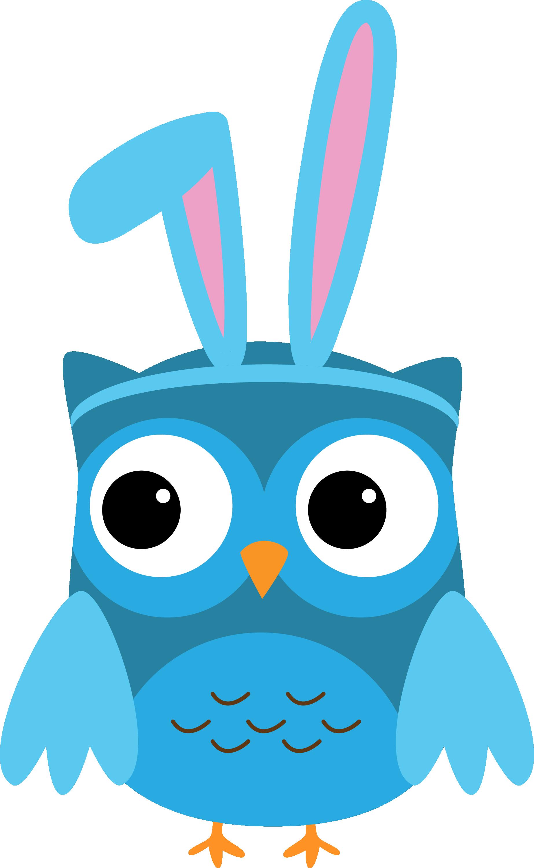 bunny owl clip art owls party pinterest owl clip art owl and rh pinterest com Ladybug Border Clip Art Owl School Clip Art