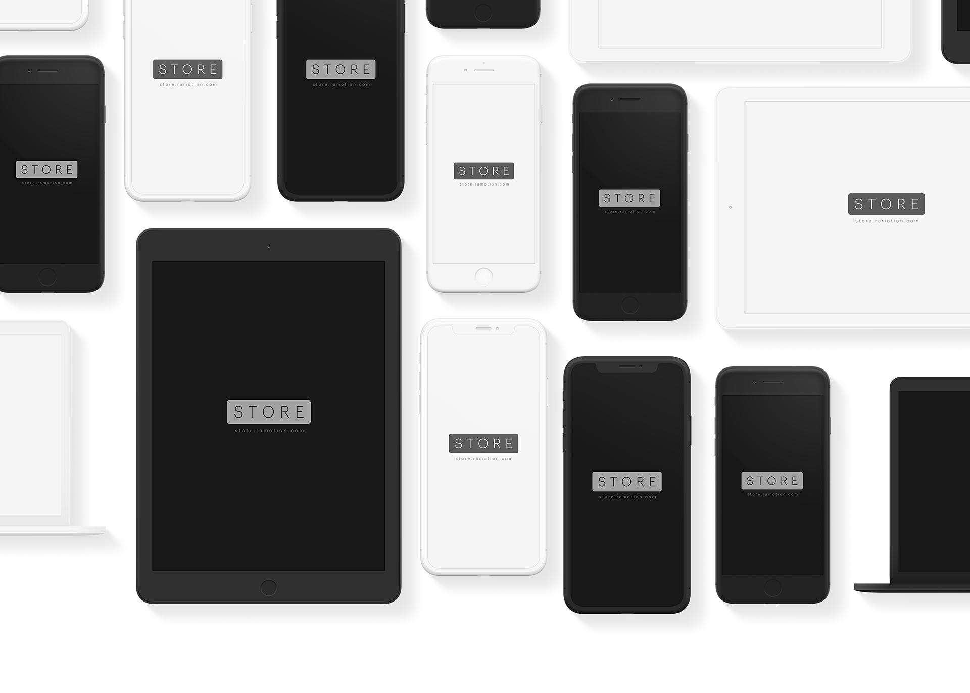 Apple Device Mockups Psd Sketch On Behance Ipad Phone Mockup Mockup