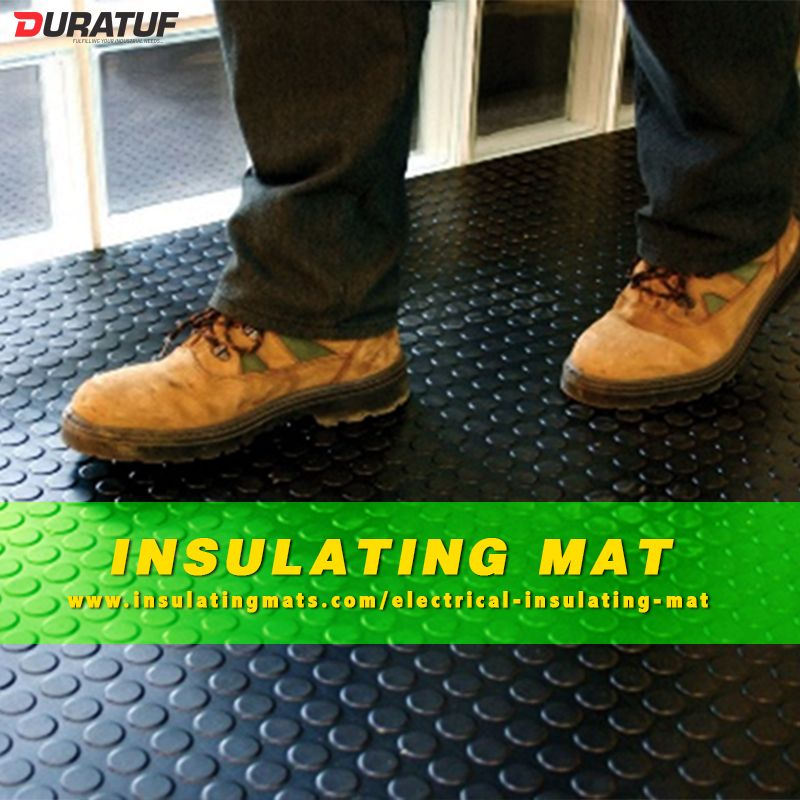 Notable Points To Follow Before Buying An Insulating Mat Electricity Mats High Voltage