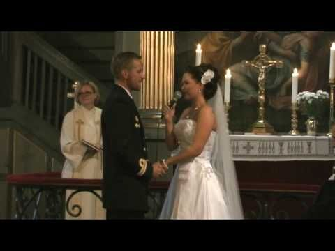 During The Wedding Ceremony Randi Elizabeth Bride Suprised Her New Husband With Song From This Moment By Shania Twain