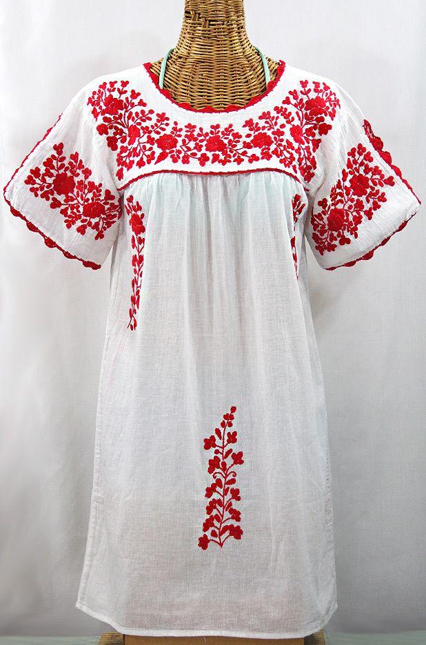White Mexican dress 70's white mexican dress by ZazaofCanada