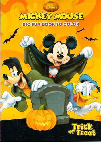 Disney Halloween Coloring Book