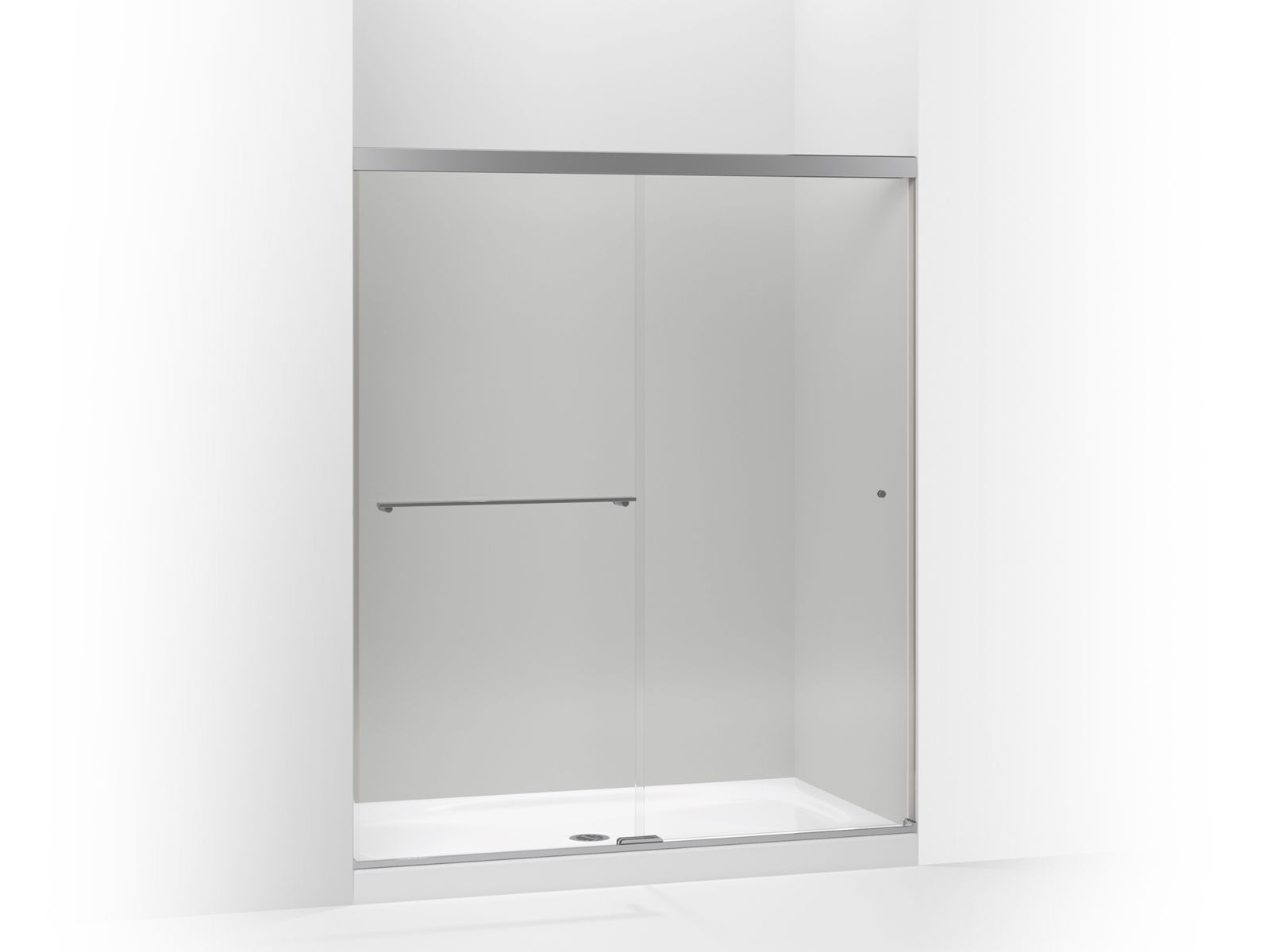 K 707206 L Revel Frameless Sliding Shower Door Kohler