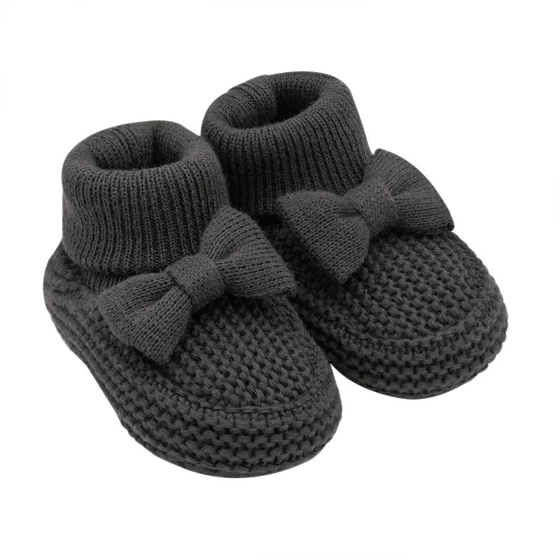 0daccb0db8ec7 Carter's Bow Knit Pull-On Booties - Baby Girl   Products   Knitted ...