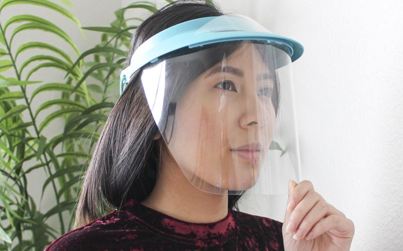 An alternative to soapmaking goggles the soap visor in