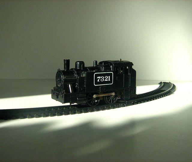 old clockwork train sets - Google Search
