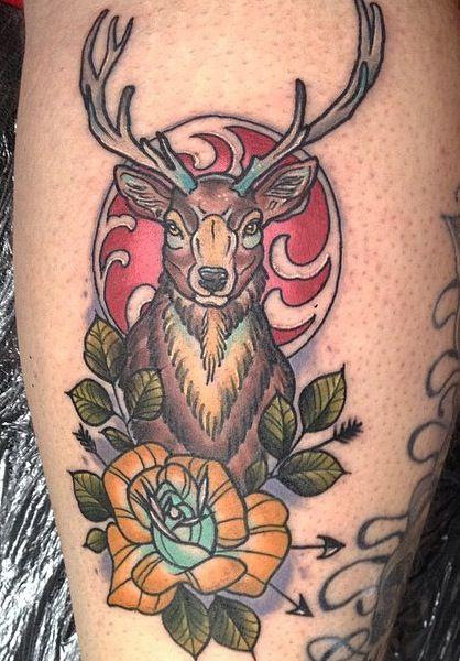 stag tattoo tattoos stag tattoo tattoos traditional