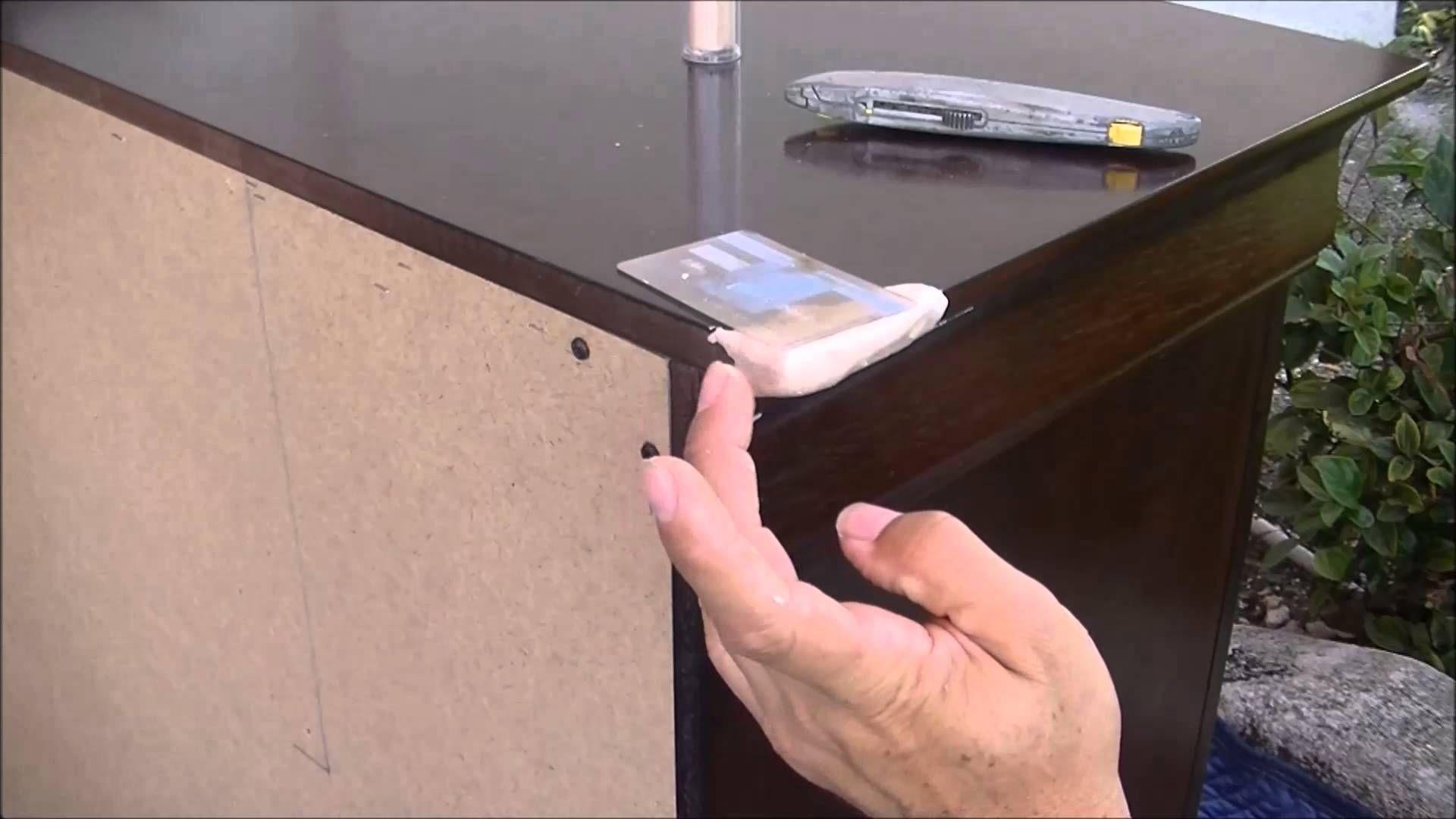 How To Fix A Dresser Broken Corner Part