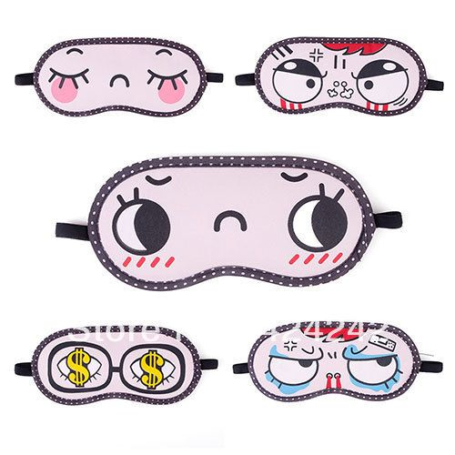 New Cartoon Sleeping Eye Mask Eyeshade Relaxation Travel Rest Fast Ice Gel Blindfold  #42121-in Sleep & Snoring from Beauty & Health on Alie...