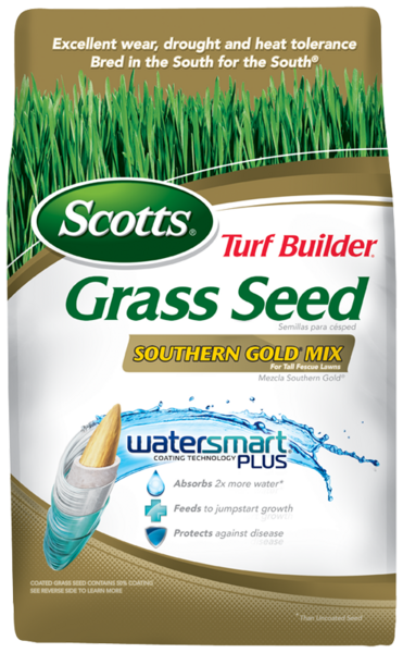 Scotts Turf Builder Southern Gold Mix Reseeds And Feeds Your