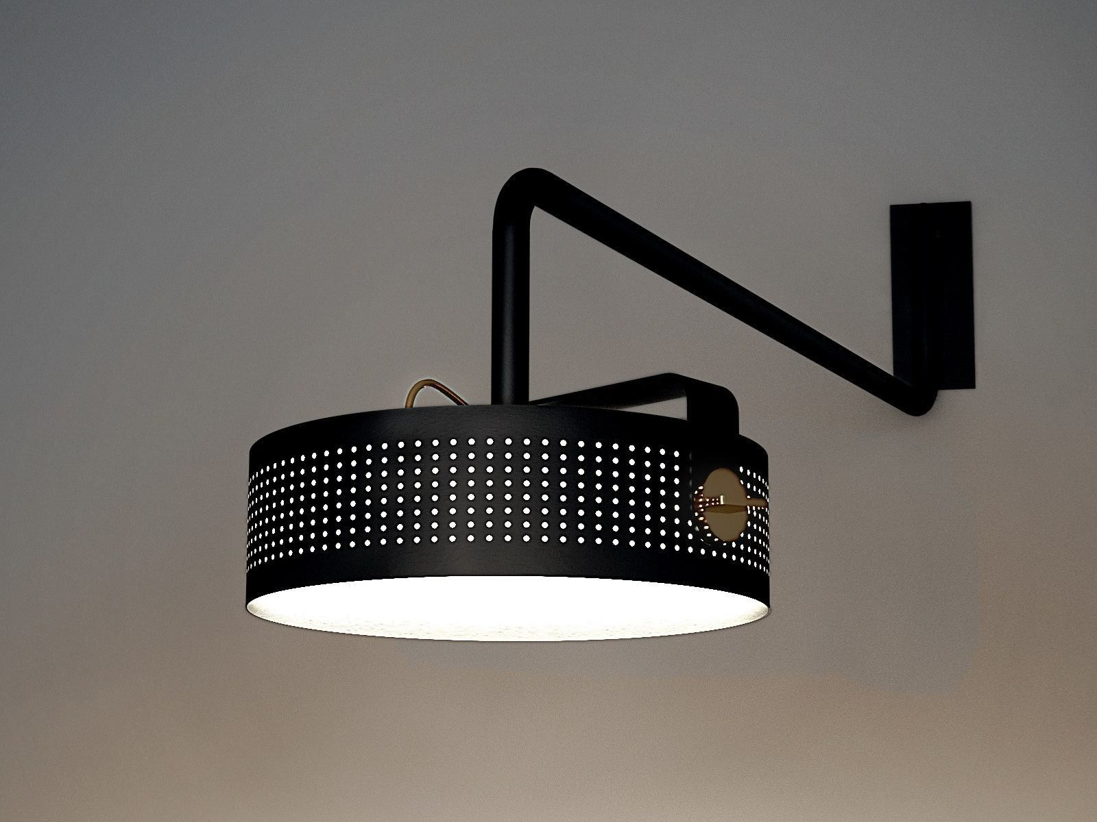 Modena applique in light led wall lamp