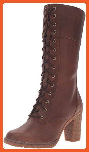 Timberland Women's Glancy 10 Inch Lace Up Boot, Tobacco Forty, 8.5 M US -  Boots for women (*Amazon Partner-Link)