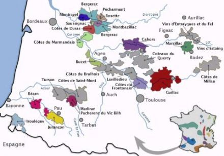 The Wines Of Chateau La Caminade In The Cahors France Malbec